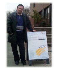 La Darmstadt, alaturi de afisul programului