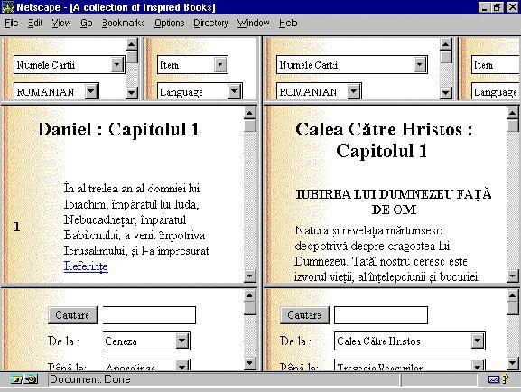 Biblia pe internet