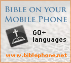 Bible on your mobil phone - 60+ languages, parallel versions