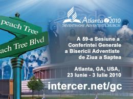 A 59-a Sesiune a Conferintei Generale a Bisericii Adventiste de Ziua a Saptea, Atlanta, GA, USA, 23 Iunie - 3 Iulie 2010 intercer.net/gc