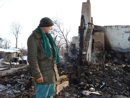 Anunt umanitar: O familie din comuna Scurtu Mare, judetul Teleorman, si-a pierdut casa intr-un incendiu devastator