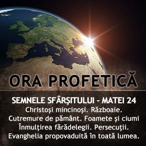 Ora Profetica 25/2011