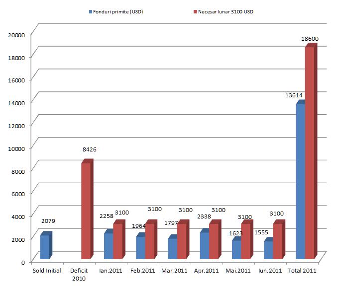 Raport financiar Intercer: Ianuarie - Iunie 2011