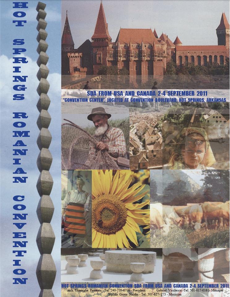 Episod 10. Intalnirea diasporei adventiste romanesti din America si Canada: Hot Springs, 2-5 Sept.2011