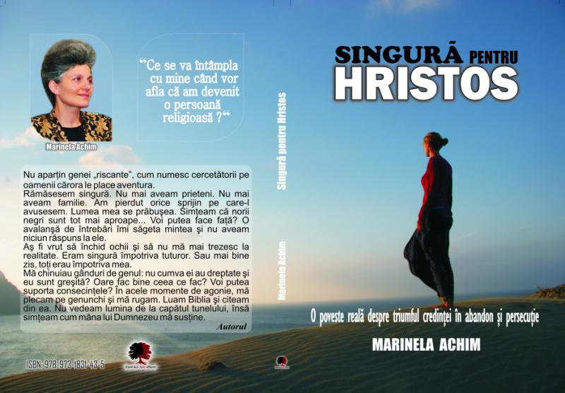 """Lansarea cărţii """"Singură pentru Hristos"""" de Marinela Achim, Toronto, 22 Octombrie 2011"""
