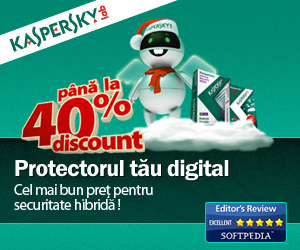 Kaspersky - Best antivirus solution, promotie 2011