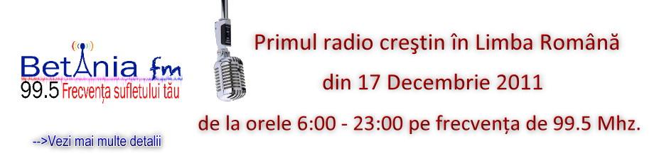 Radio Betania FM – Primul radio crestin in limba romana din Irlanda
