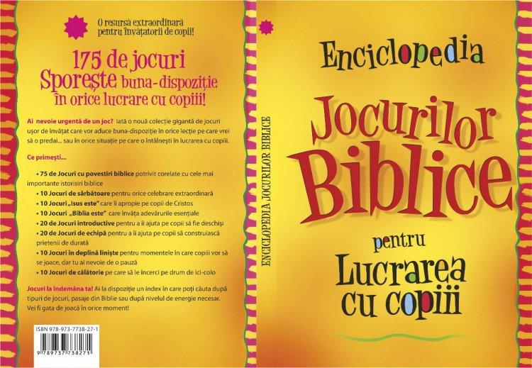 Bebedream.ro – Enciclopedia jocurilor Biblice pentru lucrarea cu copiii