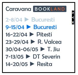 BebeDream.ro: Caravana Bookland se afla in Bucuresti, intre 9 – 15 Aprilie 2012