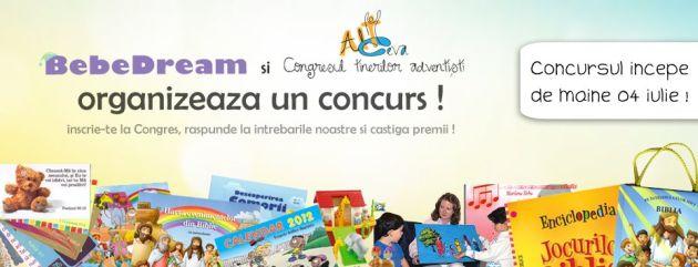 BebeDream: concurs in colaborare cu Congresul Tinerilor Adventisti