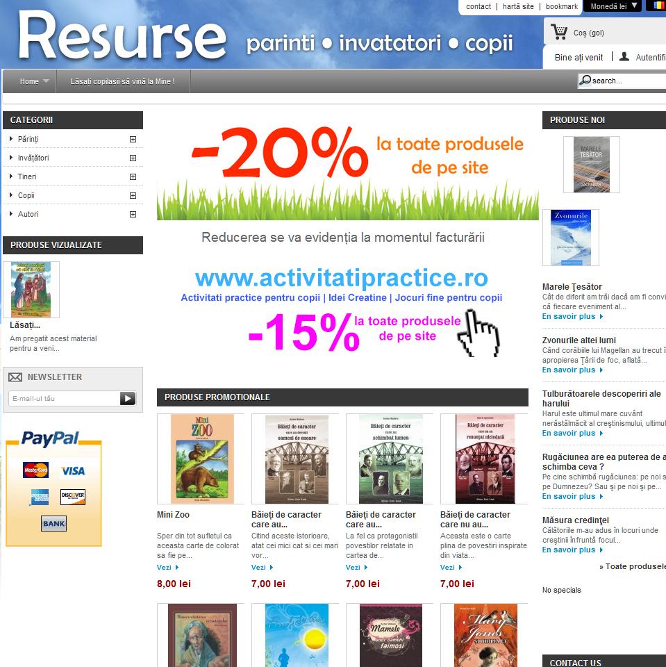 BebeDream.ro : Un nou website cu resurse pentru parinti, invatatori si copii