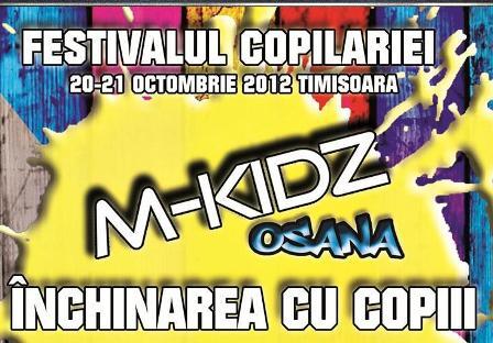 Alo!Copii – Festivalul Copilariei, 20-21 Octombrie 2012 la Timisoara