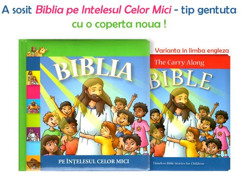 """BebeDream.ro – A sosit """"Biblia pe intelesul celor mici"""", tip gentuta"""