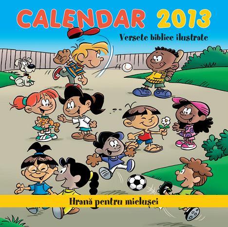 BebeDream.ro – Calendar 2013 cu versete biblice ilustrate