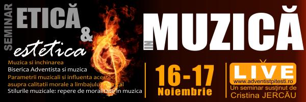 Seminar de Etică și Estetică – Live de la Pitești, 16 – 17 Noiembrie 2012