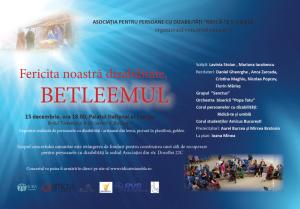"""Concertul persoanelor cu dizabilitati: """"Fericita noastra dizabilitate"""", Bucuresti, 15 Dec. 2012"""
