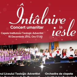 """ITA Cernica: Concert umanitar """"Întâlnire la iesle"""", 15 Decembrie 2012"""