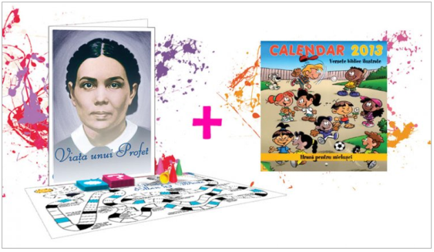"Bebedream – Pachet: Calendar 2013 si Joc ""Viata unui profet"""