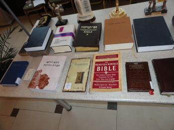 """Expoziție inedită """"Impactul social al Bibliei"""""""