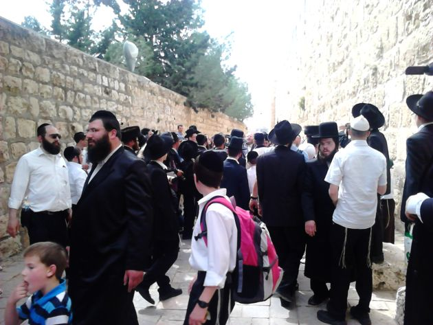 Din Jerusalem, orasul iubirii …