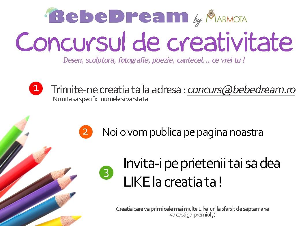 ★ Concursul de creativitate continua !