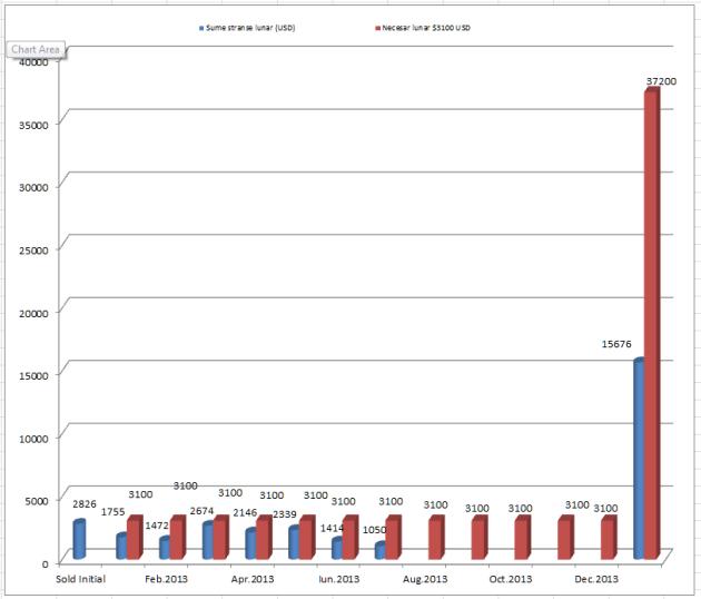 Raport financiar Intercer – Ianuarie – Iulie 2013