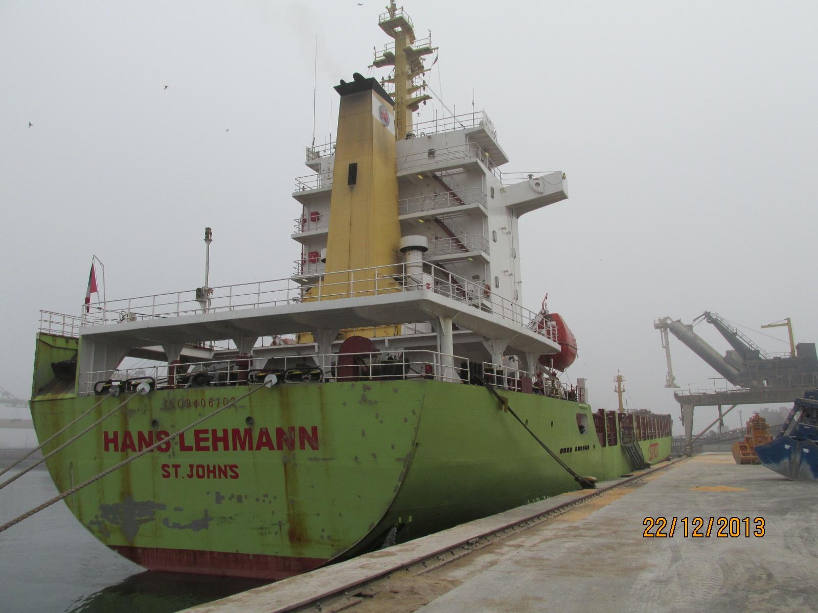 Serviciu Religios Special pe vaporul Hans Lehmann