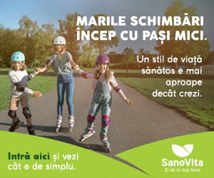 SanoVita.ro - Marile schimbari incep cu pasi mici - Zi de Zi mai bine!